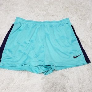Nike Dri Fit Womens Running Shorts Teal/Purple